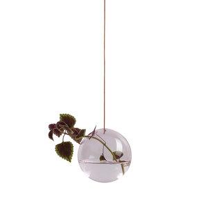 Studio About Vaas Flower Bubble hang groot roze