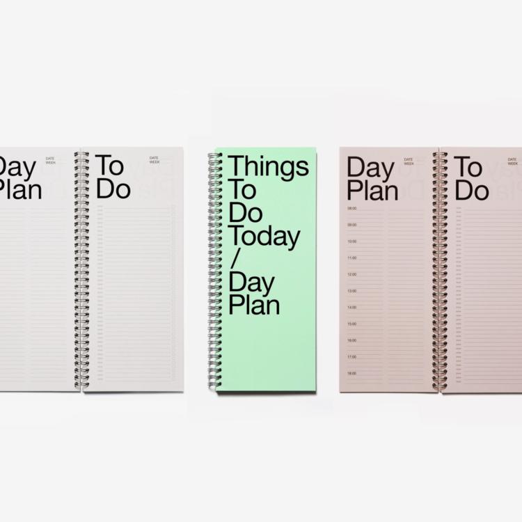 Marjolein Delhaas Marjolein Delhaas notepad Things To Do green