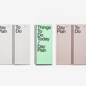 Marjolein Delhaas Marjolein Delhaas notepad Things To Do pink