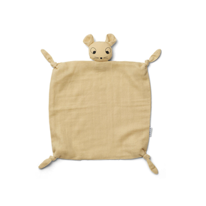 Liewood Cuddle cloth Agnete yellow mouse