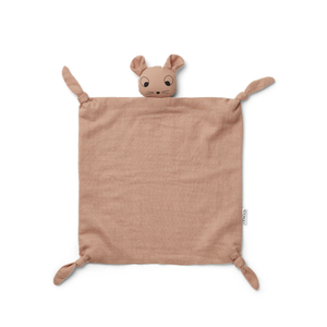 Liewood Liewood cuddle cloth Agnete pink mouse