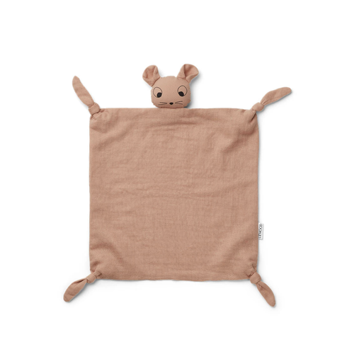 Liewood Cuddle cloth Agnete pink mouse