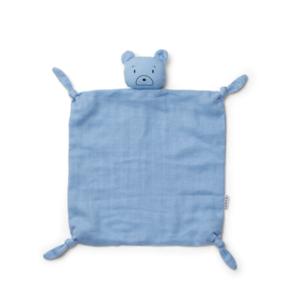 Liewood Knuffel doek Agnete beer blauw