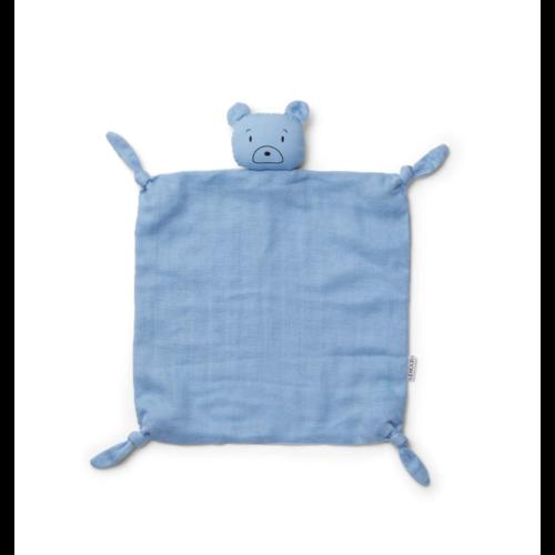 Liewood Cuddle cloth Agnete blue bear
