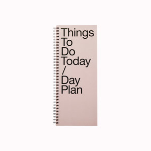 Marjolein Delhaas Notepad Thing To Do pink