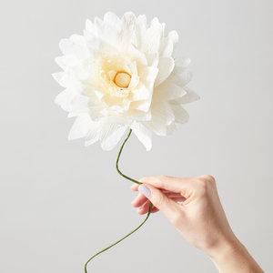 Studio About About papier bloem Grand Dahlia sand