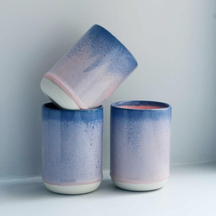 Studio Arhoj Arhoj slurp cup Ocean Flamingo