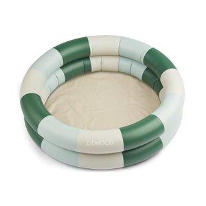 Liewood Leonore pool stripe green/sandy/ dove