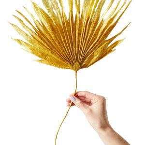 Studio About Paper flower Palm ochra