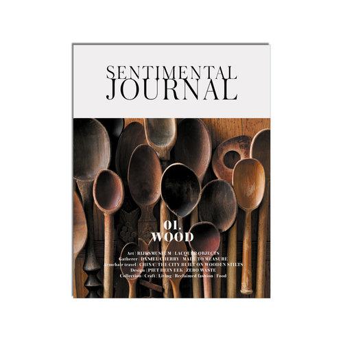 Magazine Sentimental Journal 01 wood