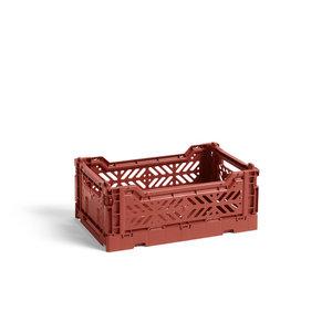 HAY Krat Colour Crate S terracotta