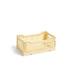 HAY Colour Crate S light yellow