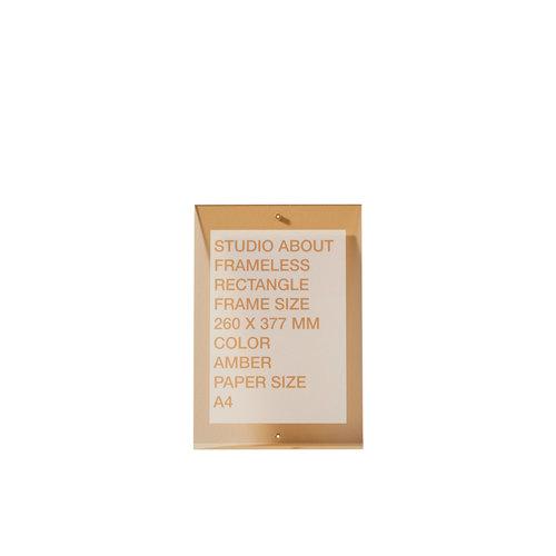 Studio About Lijst Frameless A4 amber