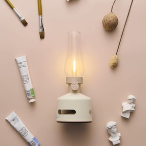 MoriMori MoriMori lamp LED lantaarn beige