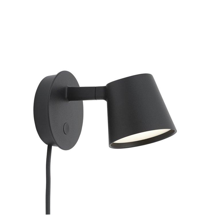 Muuto Muuto wall lamp Tip black