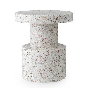 Normann Copenhagen Normann Copenhagen stool Bit white