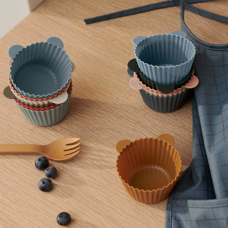 Liewood Liewood cake cup Jerry 12-pack mutli