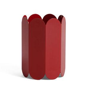 HAY Vase Arcs red