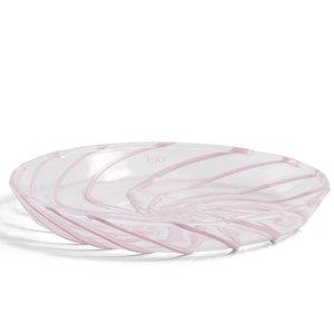 HAY Set 2 Spin schotel helder roze streep