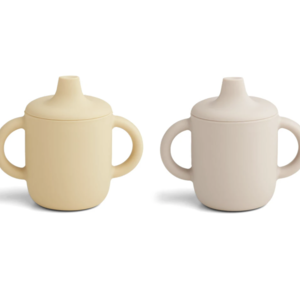 Liewood Neil cup 2-pack sand yellow