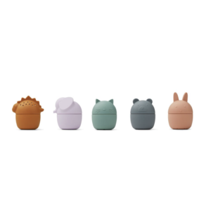 Liewood Gaby bath toys 5 pack multi color
