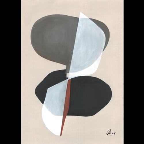 Paper Collective Print Composition 01  30x40