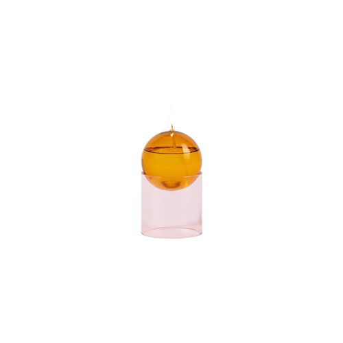 Studio About Oil lamp Oil Bubble high amber-pink