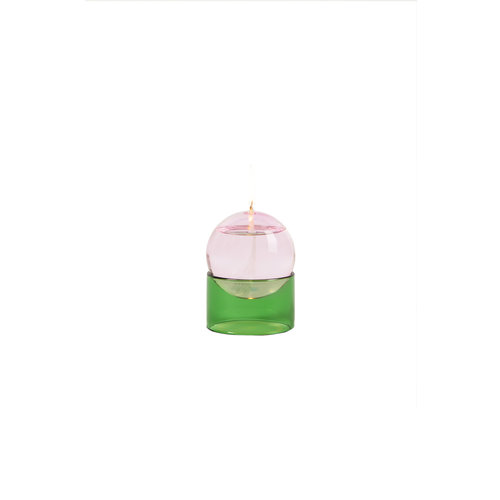 Studio About Oil lamp Oil Bubble low pink-green