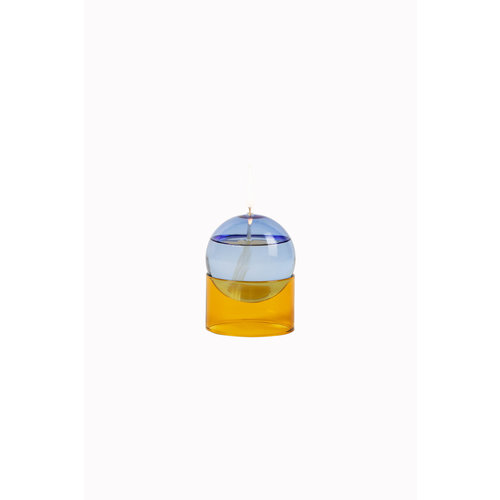 Studio About Oil lamp Oil Bubble low blue-yellow