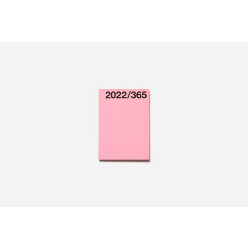 Marjolein Delhaas Planner 2022 Bubblegum