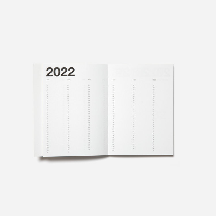 Marjolein Delhaas Marjolein Delhaass planner 2022 Bubblegum