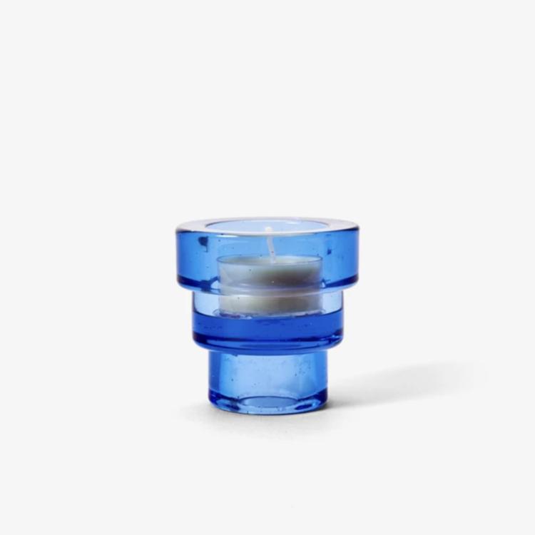 Areaware Areaware candleholder Terrace blue