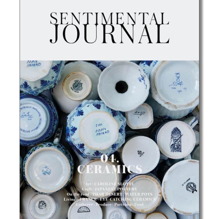 Magazine Sentimental Journal n4 ceramics