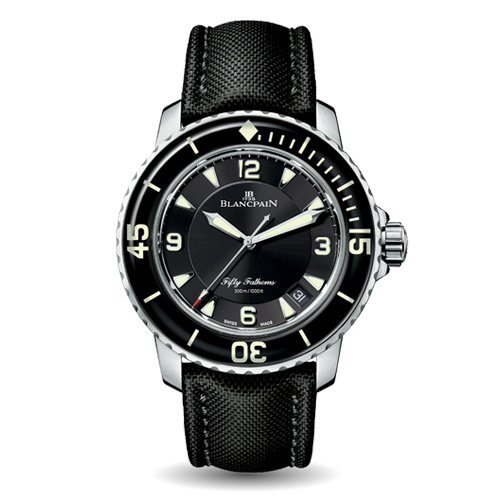Blancpain Fifty Fathoms Automatique horloge in staal Leon Martens Juwelier