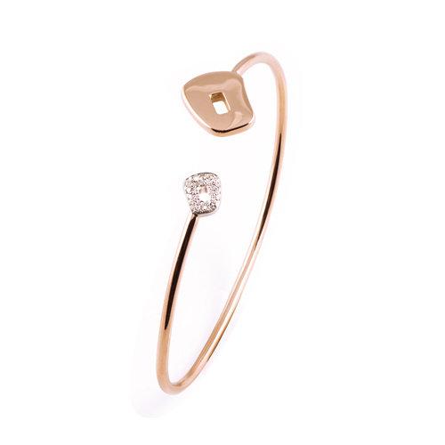 Mattioli Puzzle armband in roségoud met diamant Leon Martens Juwelier