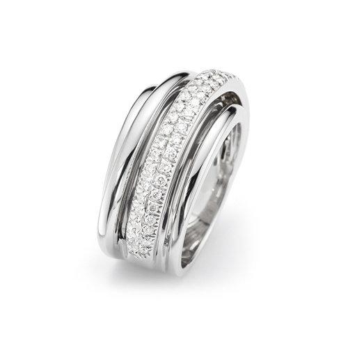 Mattioli Tibet ring in roségoud met diamant - Copy Leon Martens Juwelier
