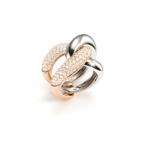 Mattioli Yin Yang ring Leon Martens Juwelier