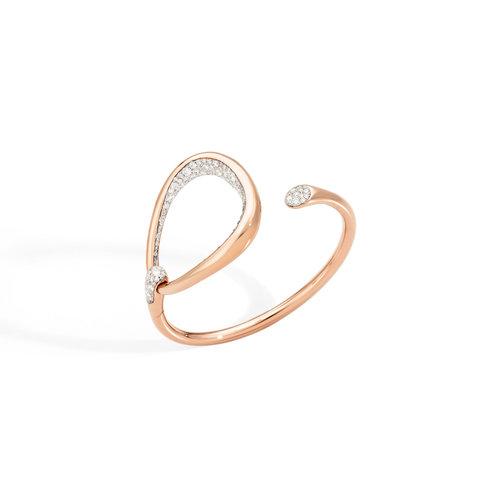 Pomellato Fantina armband in roségoud met diamant Leon Martens Juwelier