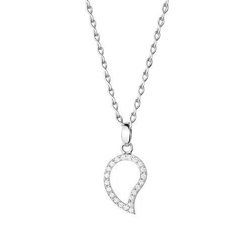 Tamara Comolli Signature hanger in witgoud met diamant Leon Martens Juwelier