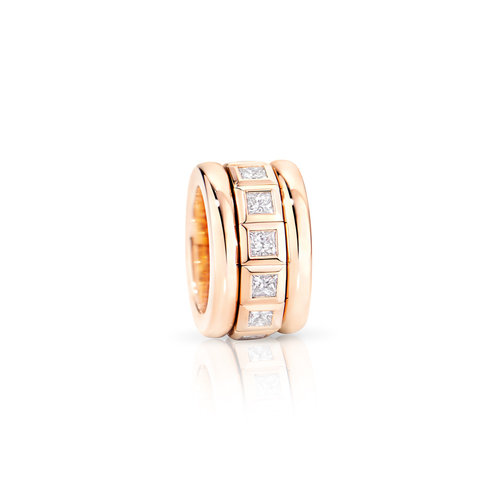 Tamara Comolli Curriculum Vitae ring in roségoud met diamant Leon Martens Juwelier
