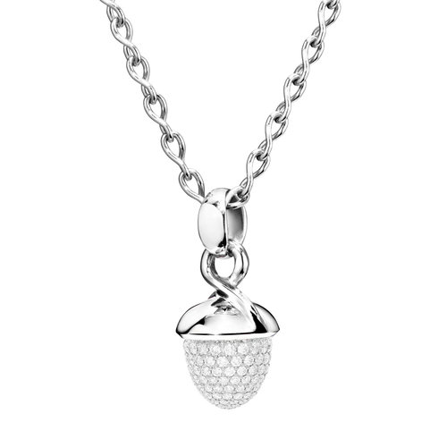 Tamara Comolli Mikado Bouquet hanger in witgoud met diamant Leon Martens Juwelier