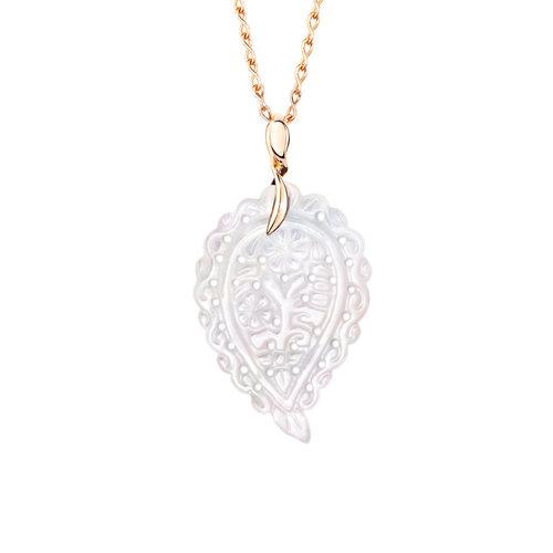Tamara Comolli India Leaf hanger Leon Martens Juwelier