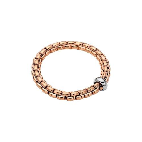 Fope Eka armband in rosé- met witgoud Leon Martens Juwelier