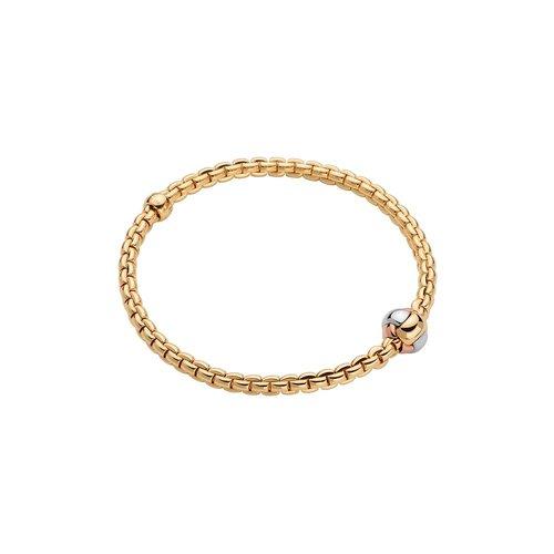 Fope Eka armband in geelgoud, tri colore Leon Martens Juwelier