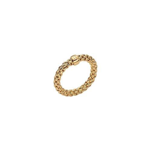 Fope Essentials ring in geelgoud Leon Martens Juwelier