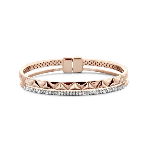 Tirisi Monte Carlo armband in roségoud met diamant Leon Martens Juwelier