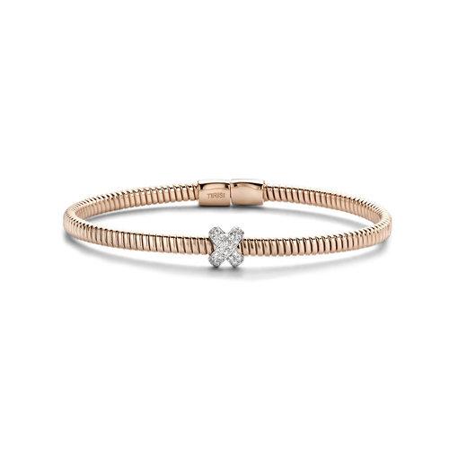 Tirisi Amsterdam armband in roségoud met diamant Leon Martens Juwelier