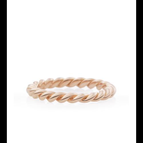 Stax ring in roségoud Leon Martens Juwelier