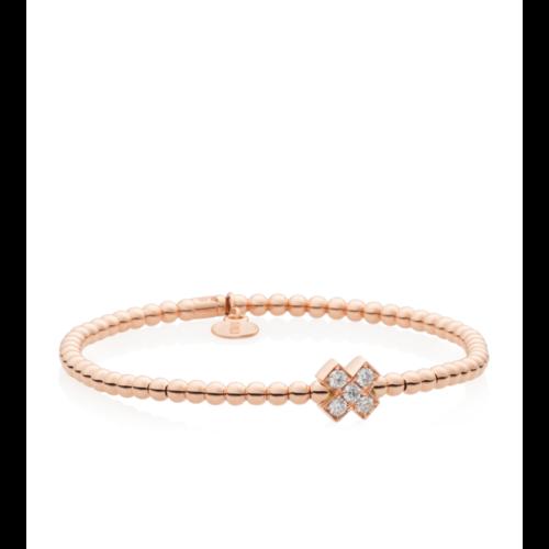 Bron Relfex armband in roségoud met diamant Leon Martens Juwelier