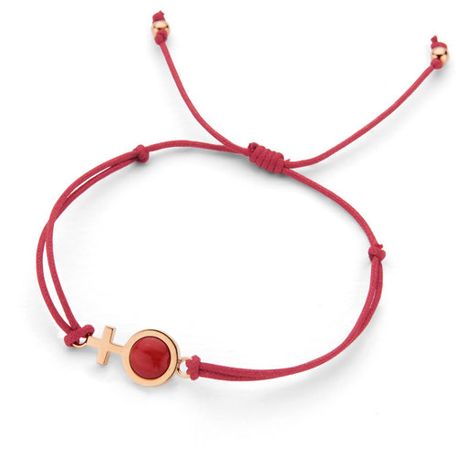 Leon Martens Gift for Life armband in roségoud met koraal Leon Martens Juwelier